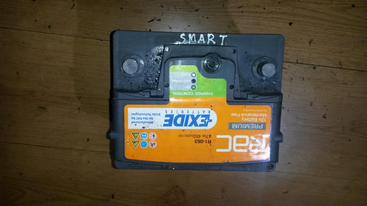 Baterija - Akumuliatorius exide 47ah Smart FORTWO 2005 0.7