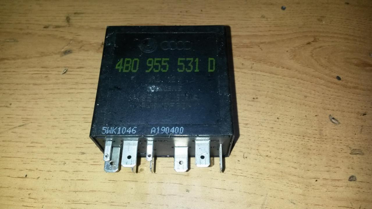 Блок электронный 4b0955531d  Audi A6 2008 2.0