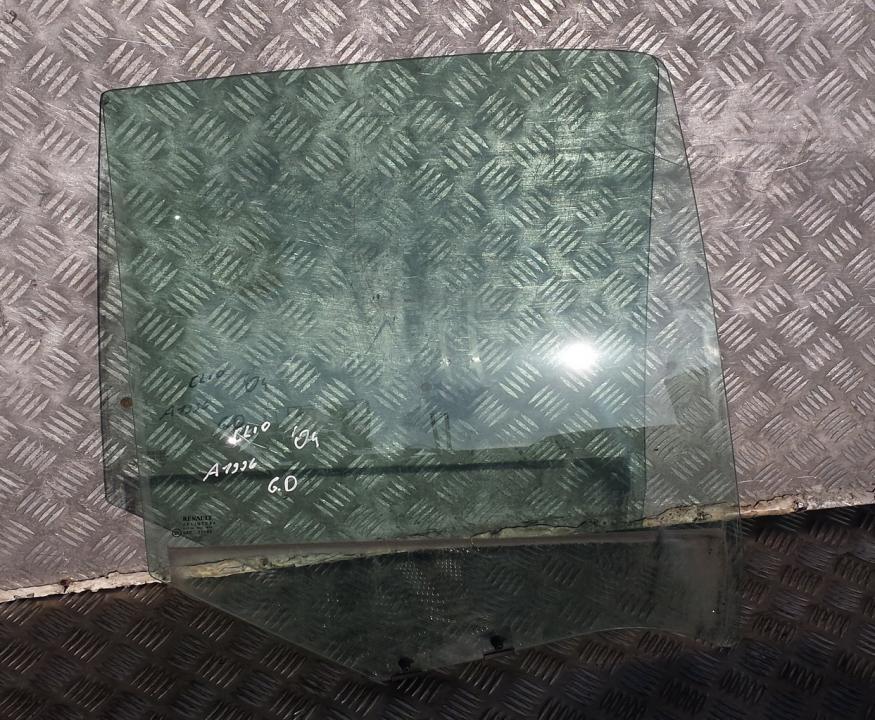 Renault  Clio Door-Drop Glass rear right