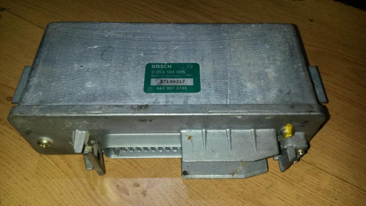 ABS kompiuteris 0265104005 4a0907379e Audi 80 1988 1.8