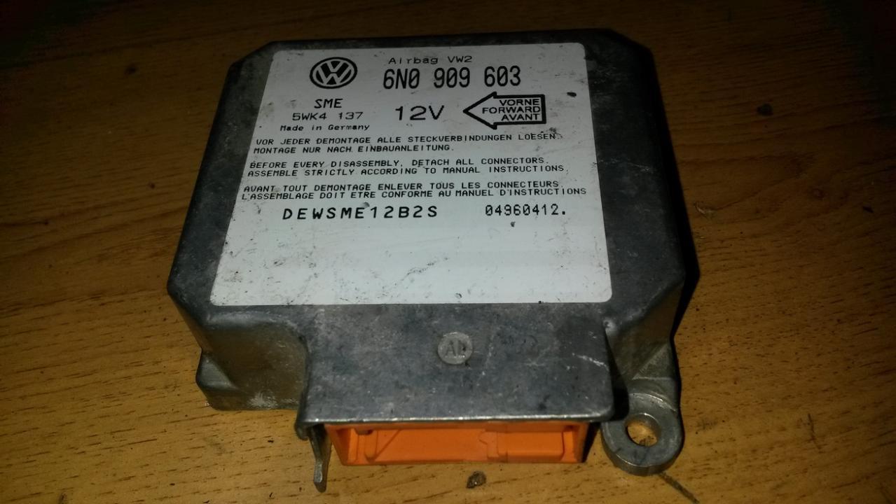 Блок управления AIR BAG  6N0909603 5WK4137 Volkswagen POLO 2006 1.2