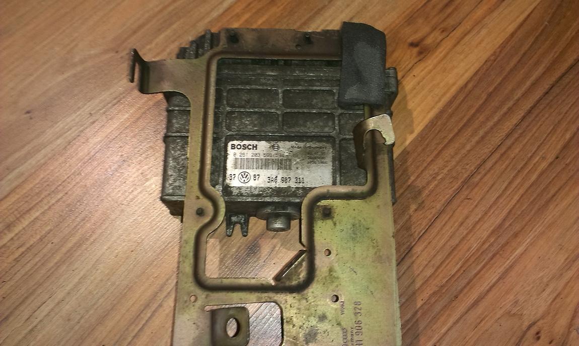 Блок управления двигателем 0261203593 3A0907311,0261203594 Volkswagen GOLF 2007 1.9