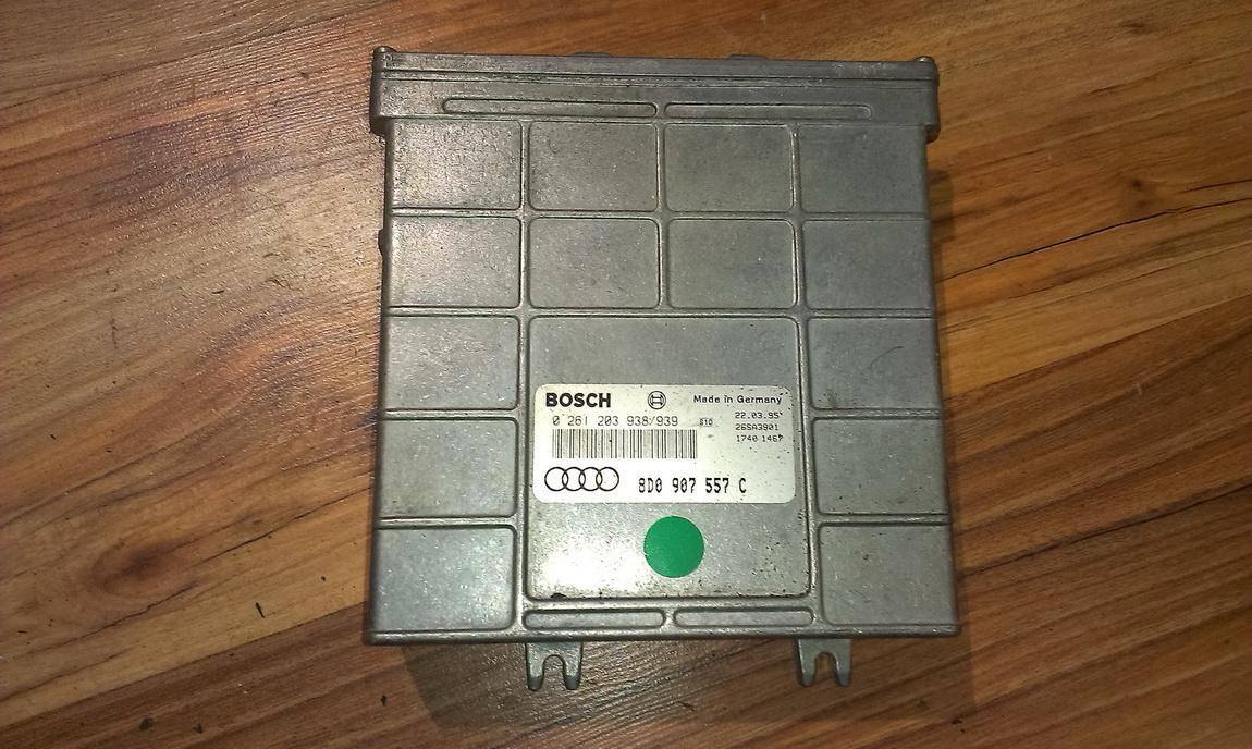Блок управления двигателем 0261203938 8D0907557C,0261203939 Audi A4 1996 1.9