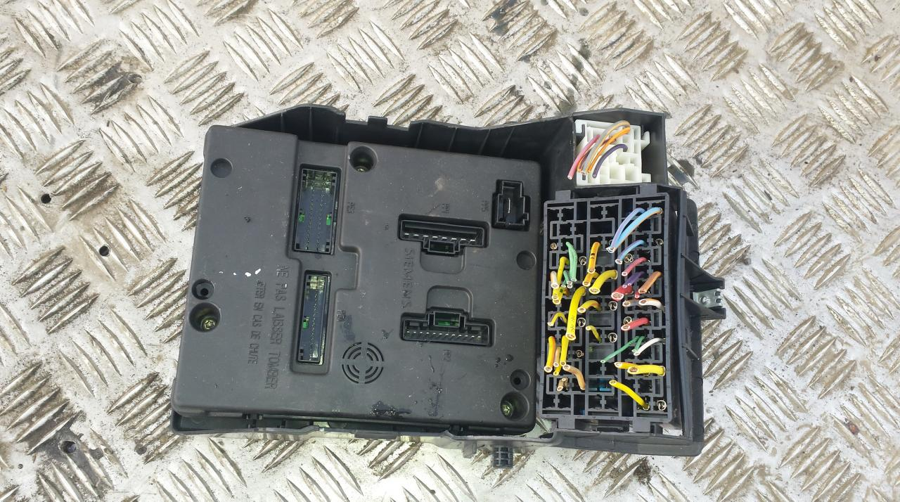 8200029342b Fuse Box Renault Scenic 2003 19l 43eur Eis00036189 Where Is