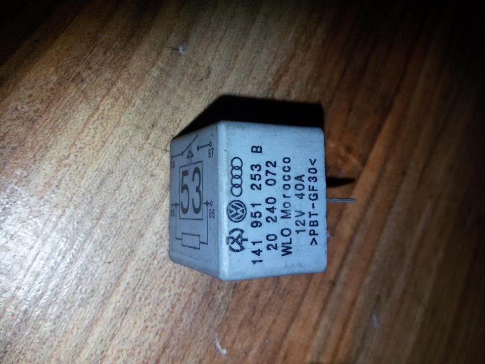 Rele 141951253B 20240072,PBT GF30 Volkswagen GOLF 2006 1.4