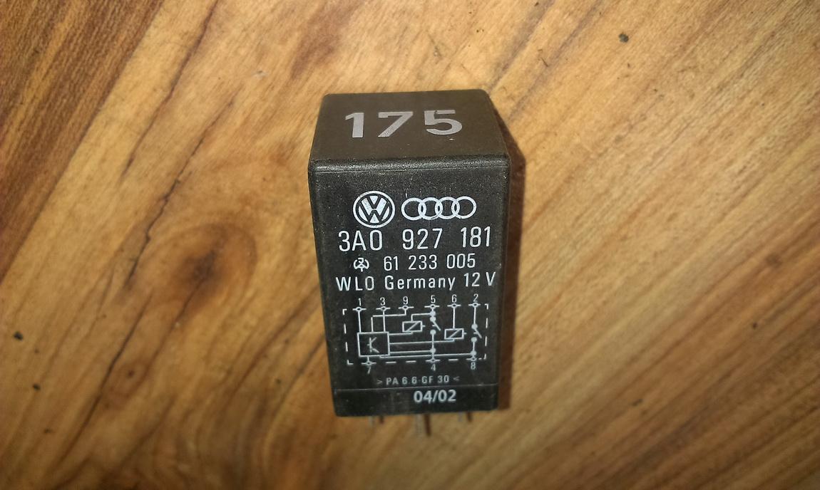 Rele 3a0927181 61233005, 175 Volkswagen PASSAT 1994 1.8