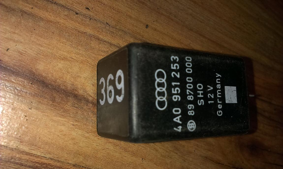 Rele 4a0951253 898700000, 369 Audi A4 2002 1.9