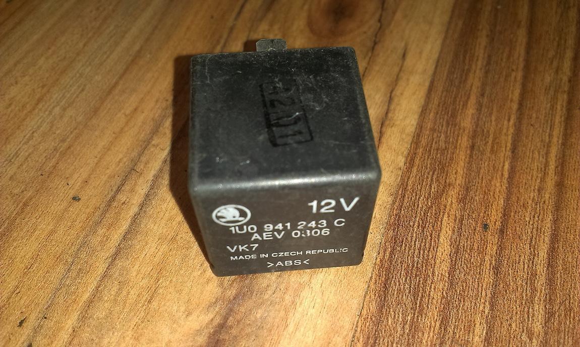 Rele 1u0941243c aev0306 Skoda OCTAVIA 1998 1.9