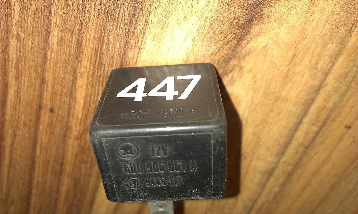 Relay module 6u0906061a 9445111, 447 Audi A3 1999 1.8