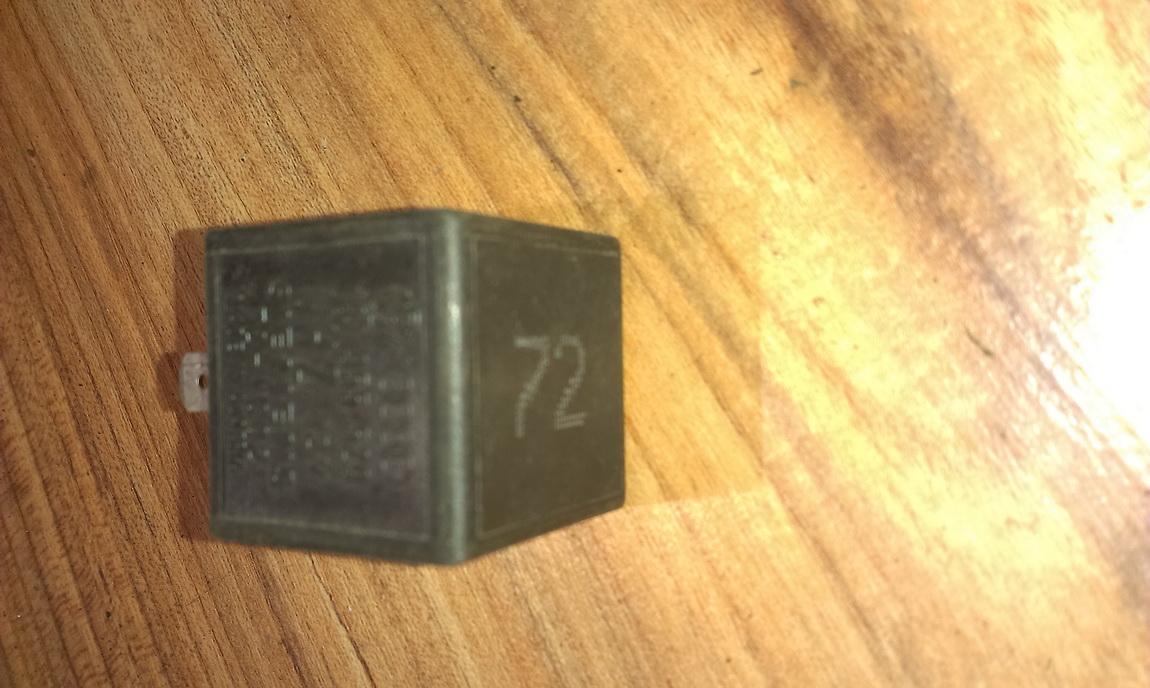 Relay module 191955529 72HV002, 72 Volkswagen GOLF 2007 1.9