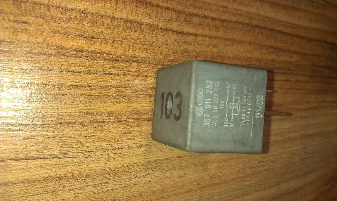 Relay module 357911253 103 Volkswagen GOLF 1994 1.6