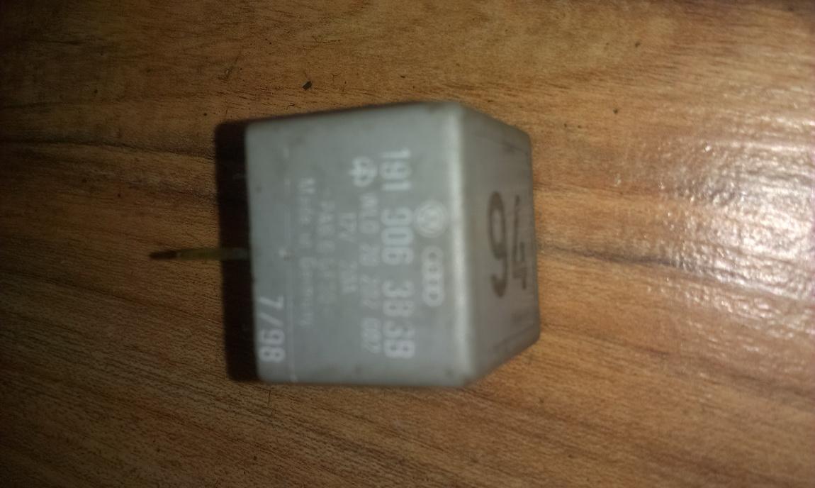 Rele 191906383b wl020202002, 94 Audi 80 1988 1.6