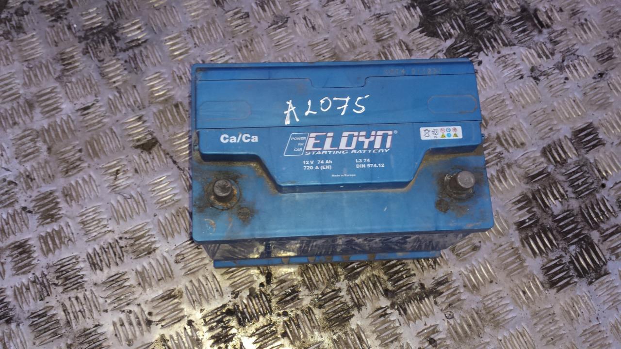 Baterija - Akumuliatorius eloyn 720A, 74Ah Nissan ALMERA 2000 1.5