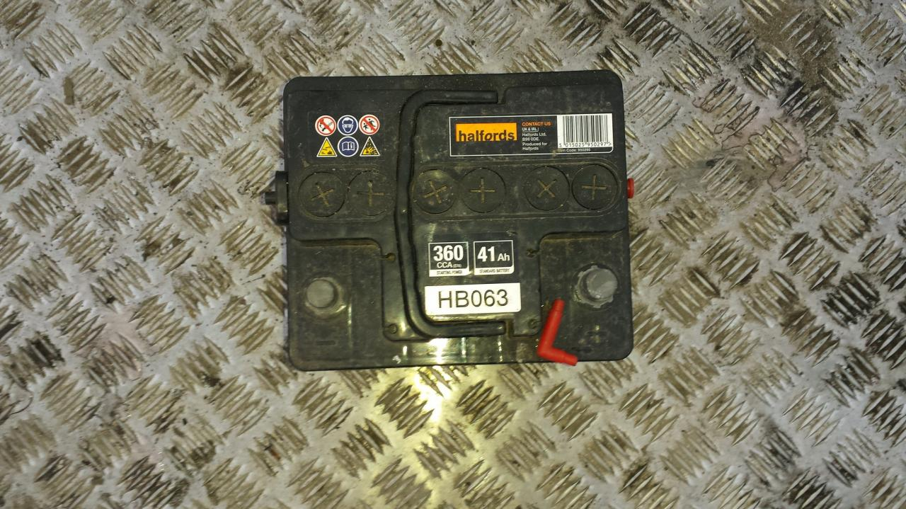 Used And Working Car Battery Accumulator Part Filter 16L - Relay Switch Halfords