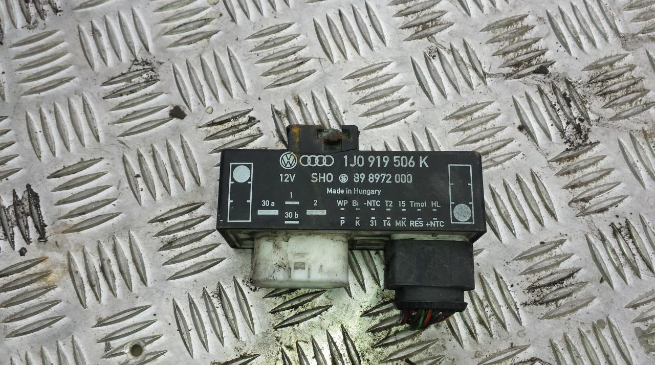 Ventiliatoriaus valdymo rele 1j0919506k 898972000 Seat TOLEDO 1996 1.9
