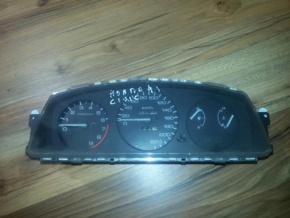 Щиток приборов - Автомобильный спидометр hr0143025  Honda CIVIC 1996 1.4