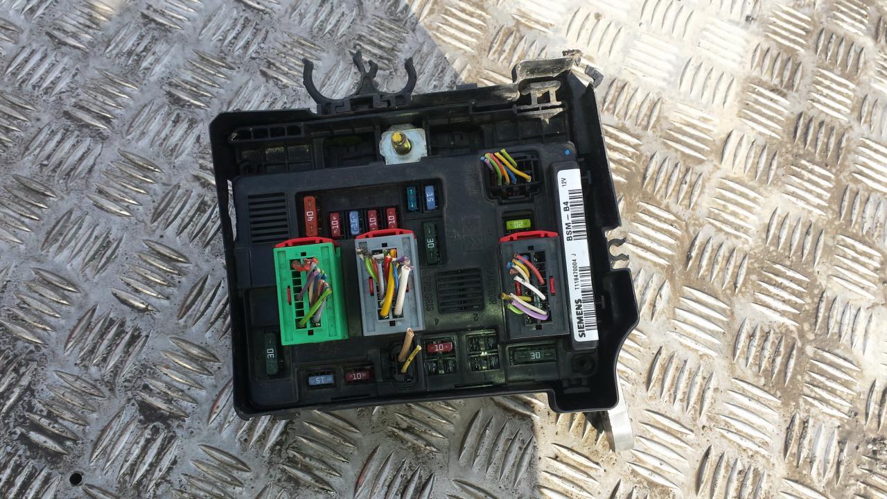 964349878000 T118470004j Bsm B4 Fuse Box Peugeot 206 2004 14l Manual 45eur Eis00042571