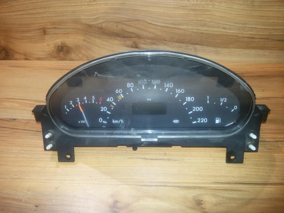 Щиток приборов - Автомобильный спидометр a1685404011  Mercedes-Benz A-CLASS 1998 1.4