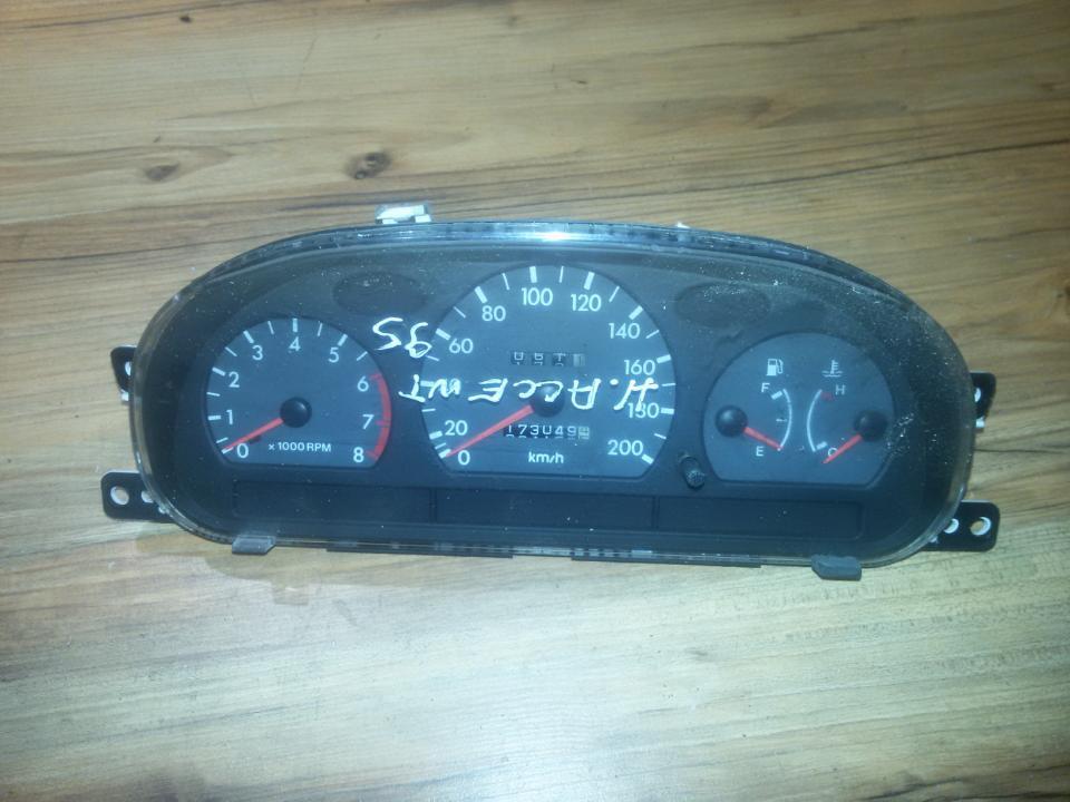 Spidometras - prietaisu skydelis 71110550  Hyundai ACCENT 1997 1.5