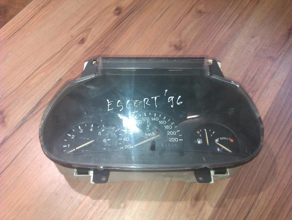 Spidometras - prietaisu skydelis 96fb10848ba  Ford ESCORT 1997 1.8