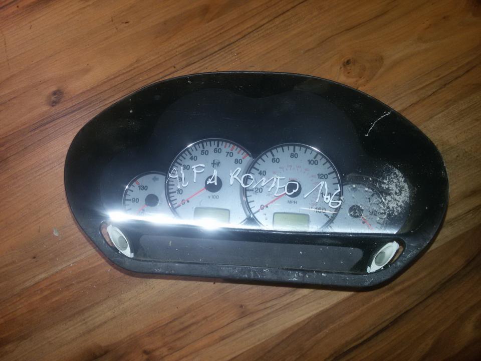 Spidometras - prietaisu skydelis 156021024 6028479914 Alfa-Romeo 166 2002 2.4