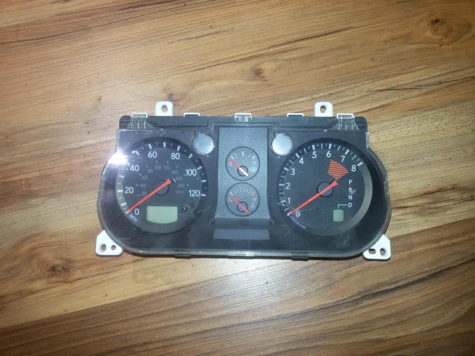 Spidometras - prietaisu skydelis mr979601 258-980 Mitsubishi OUTLANDER 2007 2.0