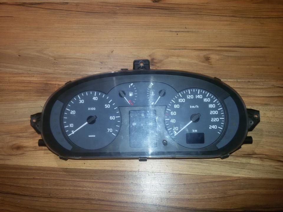 Spidometras - prietaisu skydelis p8200071820 21658590-7 Renault MEGANE 2009 1.6