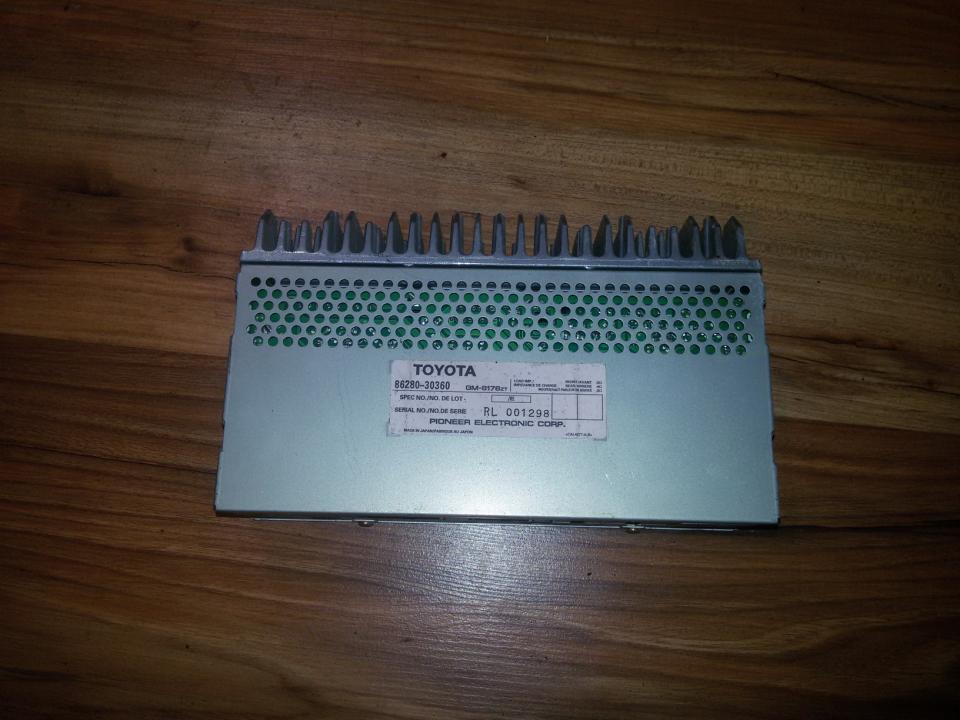 Garso stiprintuvas (audio) 8628030360 rl001298 Lexus GS - CLASS 2005 3.0