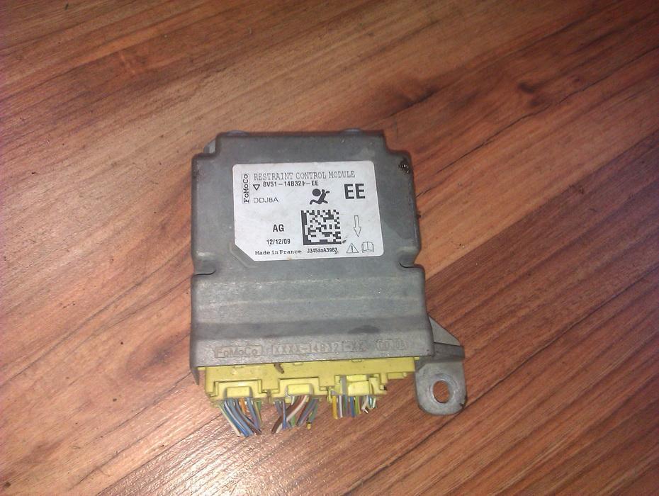 Блок управления AIR BAG  8V5114B321EE  Ford FIESTA 2009 1.3