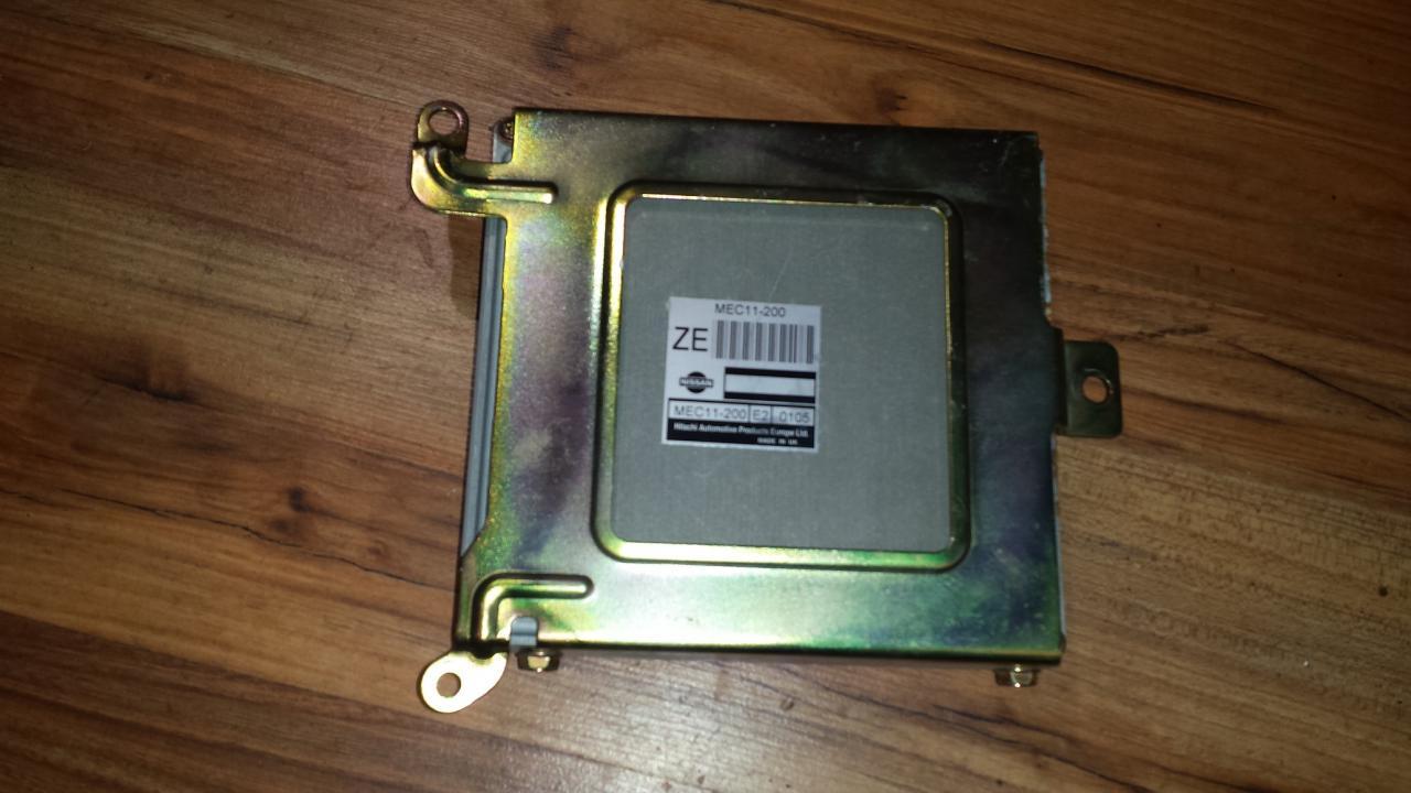 Variklio kompiuteris MEC11200 E2 0105 Nissan ALMERA 2001 1.8