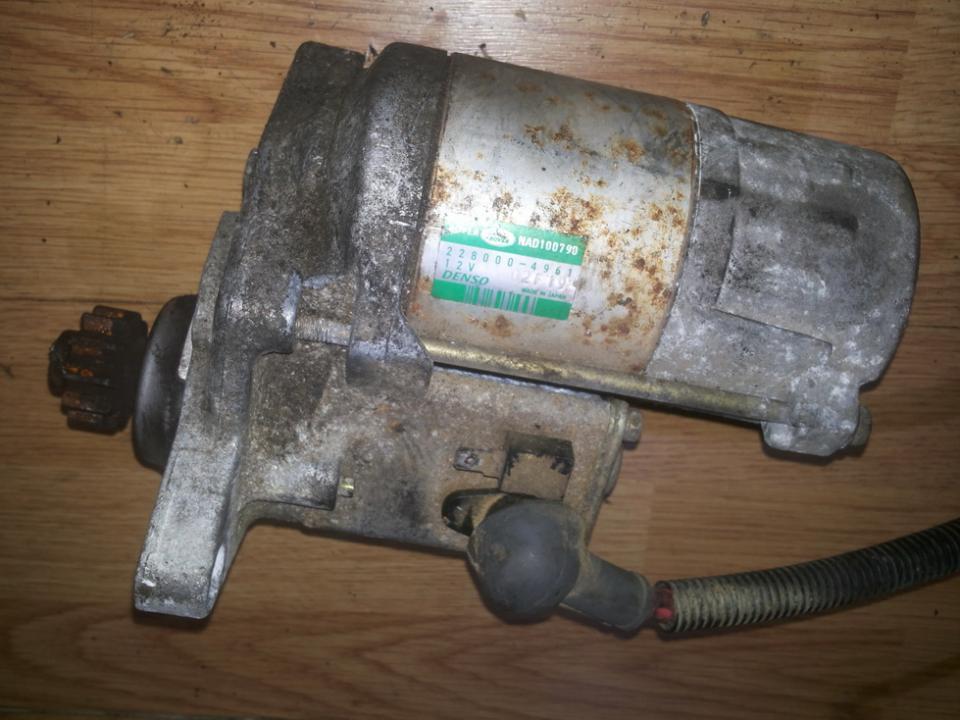 2280004961 Starter Motor Rover 25 2000 2.0L 45EUR EIS00049366