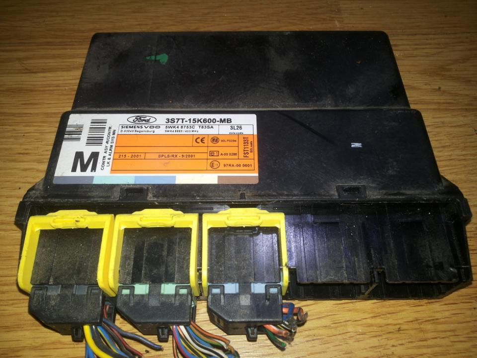 Блок комфорта 3s7t15k600mb 3s7t1-5k600-mb .3l26 Ford MONDEO 1996 1.8