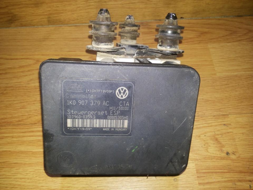 ABS blokas 1k0907379ac 1K0614517AE , 10020602404 Volkswagen GOLF 1994 1.8