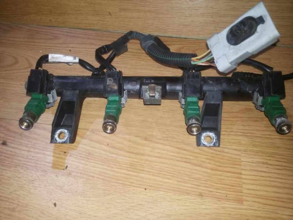 Топливная система (Магистральная трубка топлива) 9655833580 01f023 Peugeot 207 2009 1.4