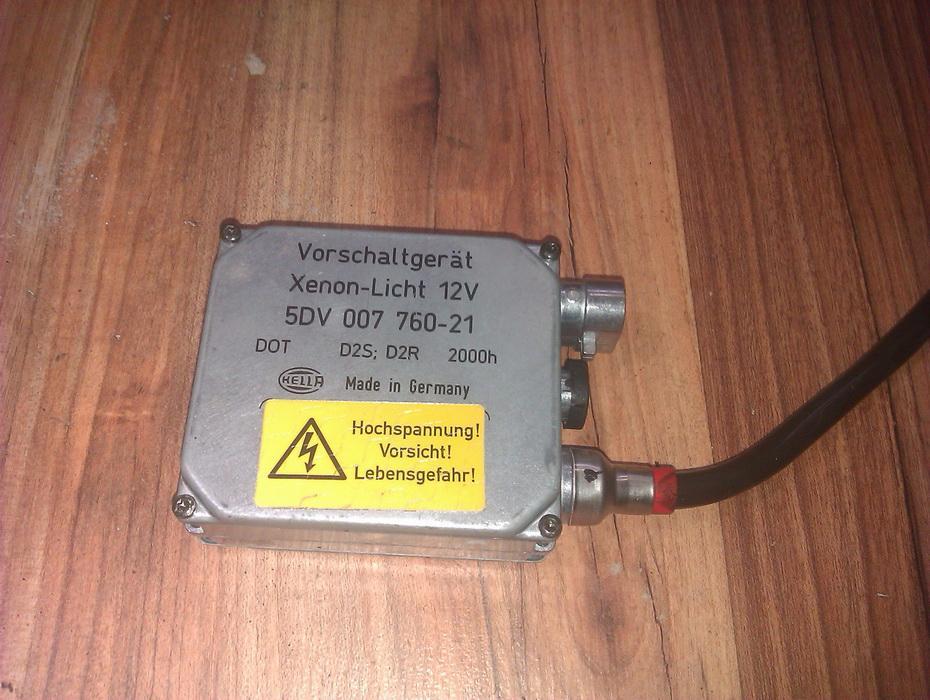 Zibinto xenon blokelis 5dv00776021  Mercedes-Benz CLK-CLASS 2005 2.7