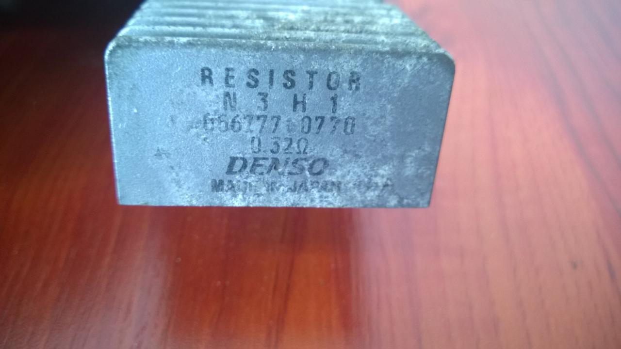 Resistor Mazda RX-8 2004    2.6 0567770770