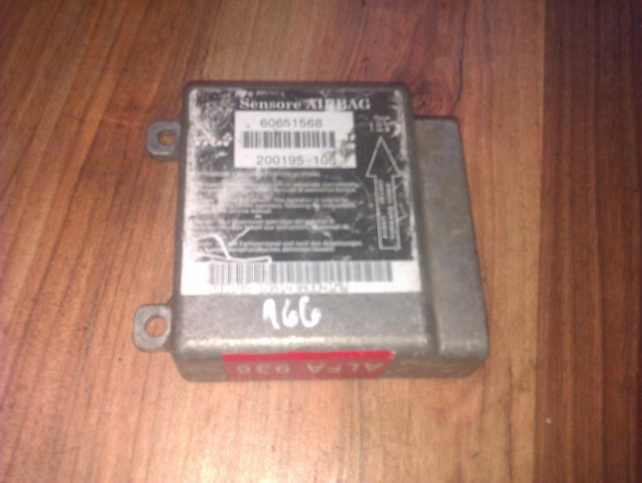 Блок управления AIR BAG  60651568  Alfa-Romeo 166 1999 2.4