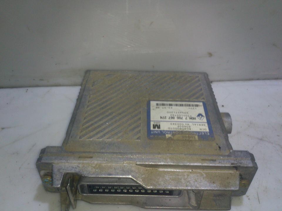 Variklio kompiuteris r04080007d 7700867274 Mitsubishi CARISMA 1997 1.8