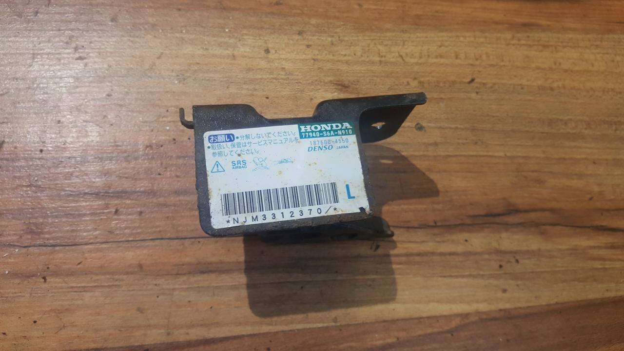 Srs Airbag daviklis 77940S6AN910 187600-4550 Honda CIVIC 2002 1.4