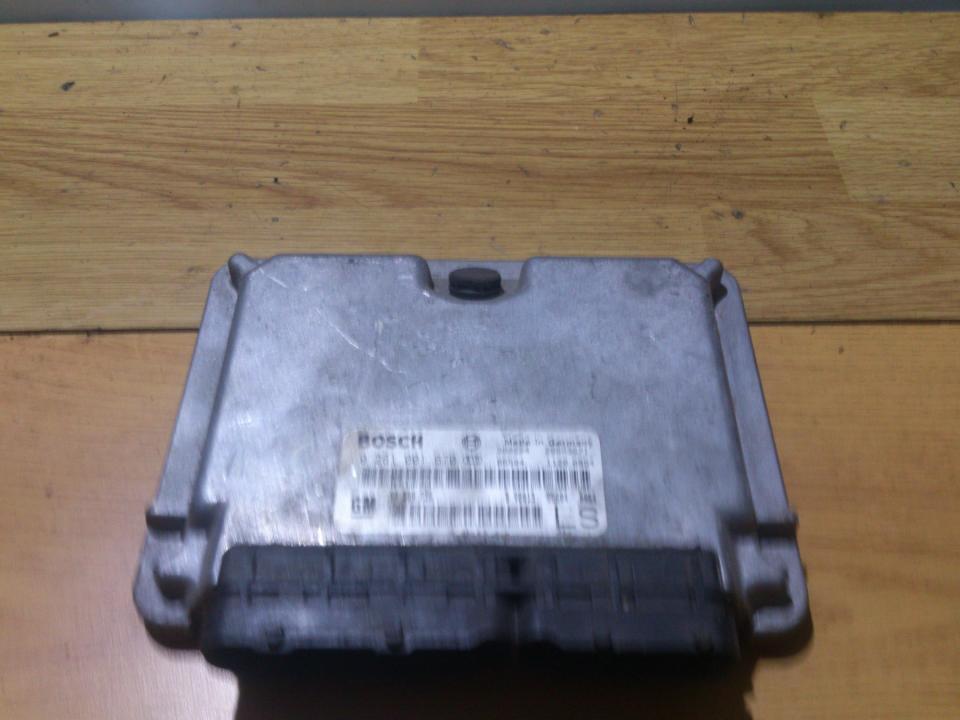 ECU Engine Computer (Engine Control Unit) 0281001670 90589736 Opel ASTRA 1998 2.0