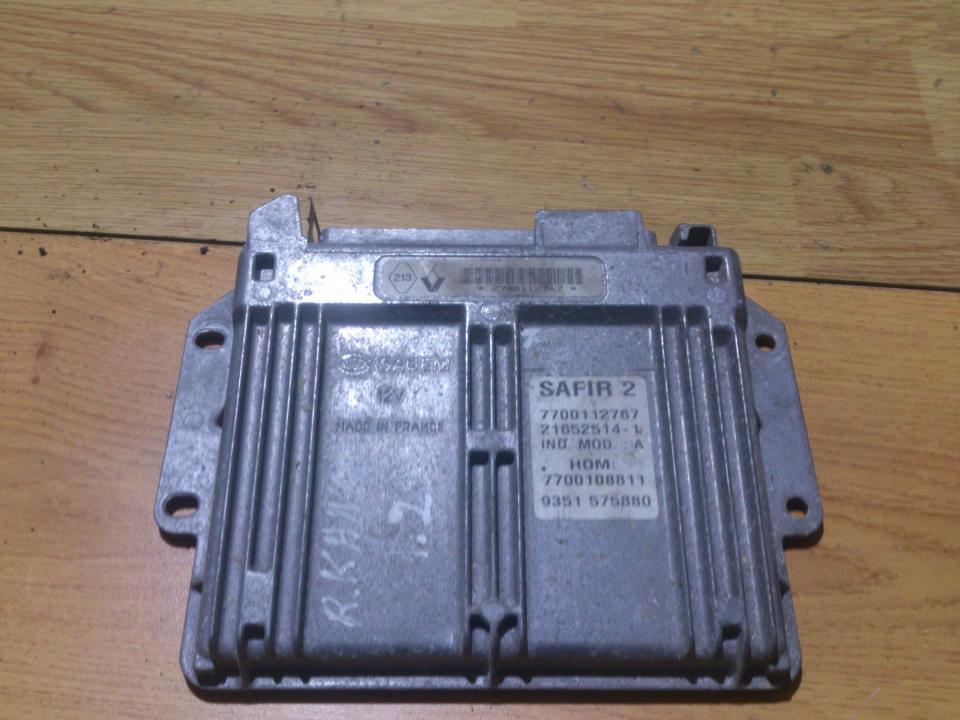 Variklio kompiuteris 7700112767 SAFIR 2 Renault KANGOO 2001 1.9