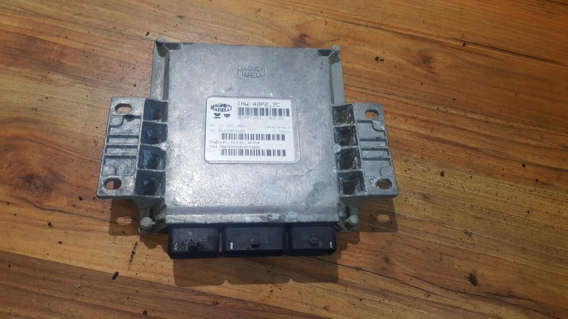 Блок управления двигателем 9645989480 9648568780, 16.623.004, 16.616.0,34 Citroen C2 2005 1.4
