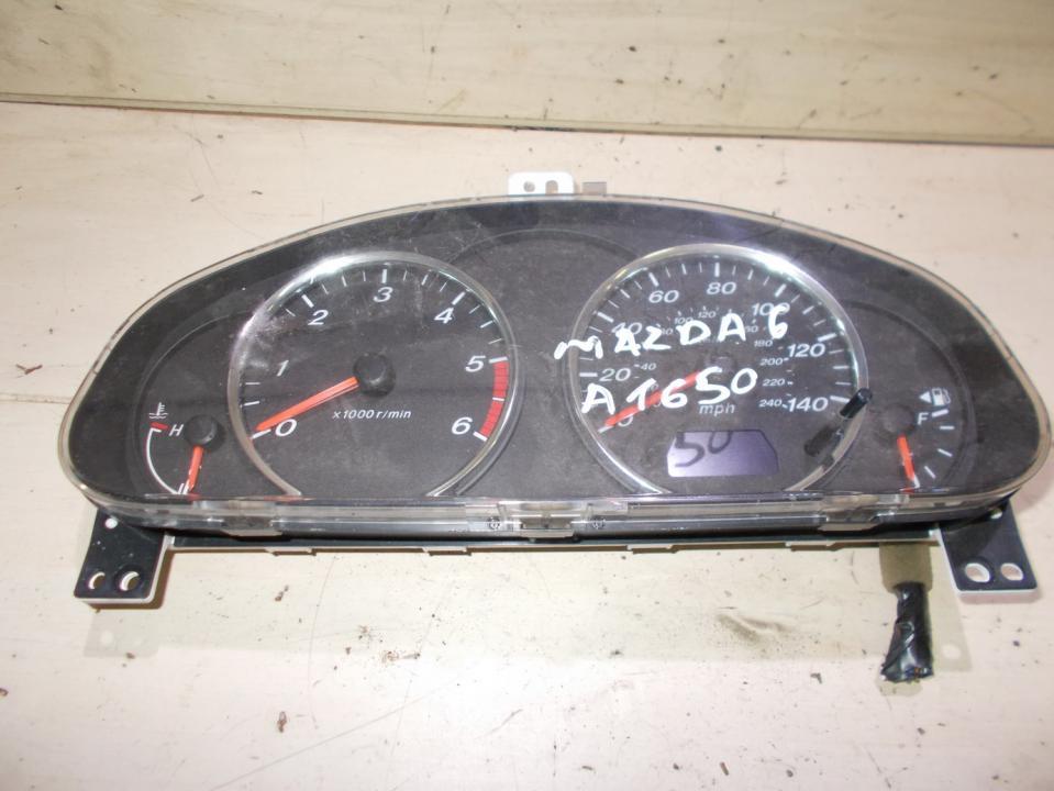 Spidometras - prietaisu skydelis jmgj8fa  Mazda 6 2002 2.0