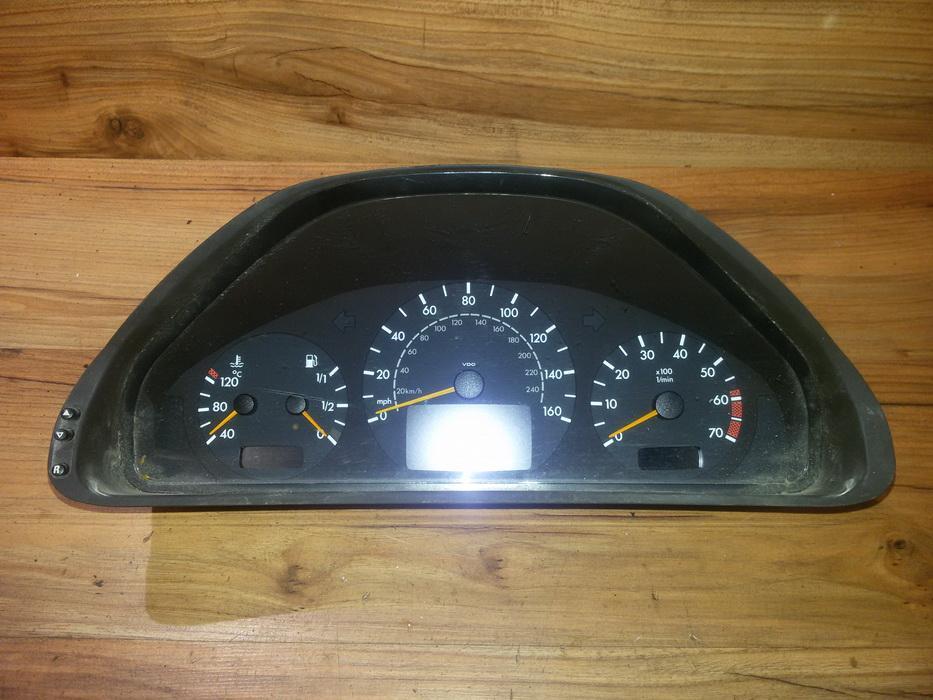 Spidometras - prietaisu skydelis a2085403811  Mercedes-Benz CLK-CLASS 2003 1.8