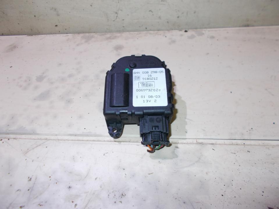 Электродвигатель заслонки отопителя 9180212 6nn00829805 Opel VECTRA 2006 1.9