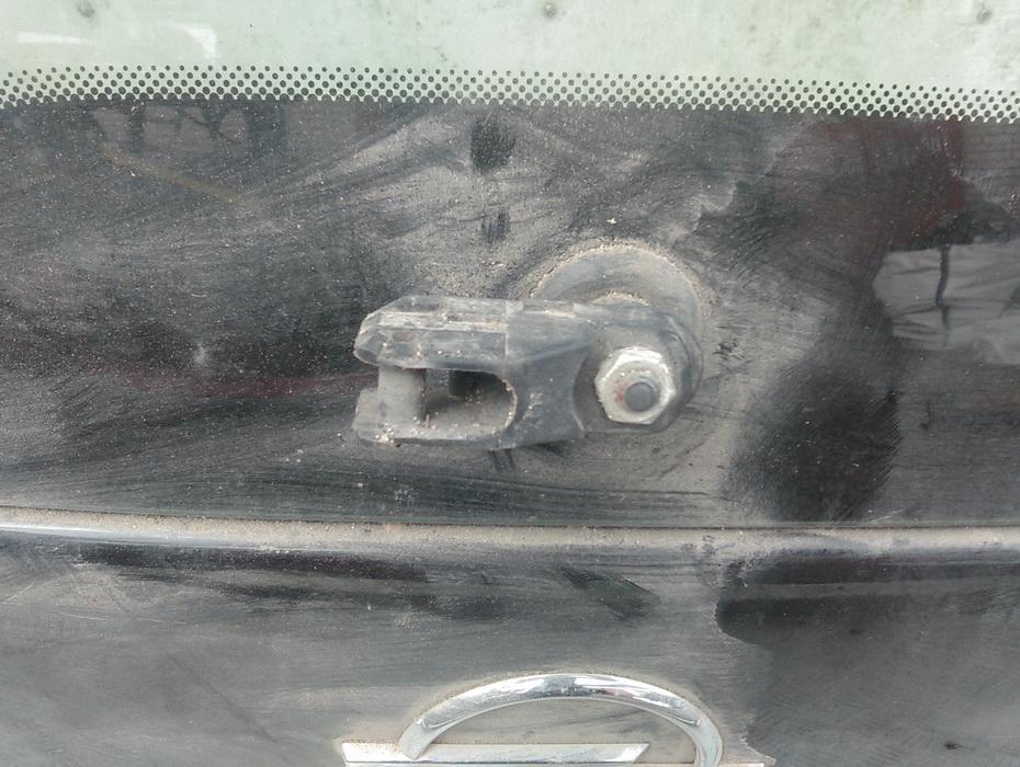 Galinio lango valytuvu varikliukas NENUSTATYTA  Opel MERIVA 2005 1.7