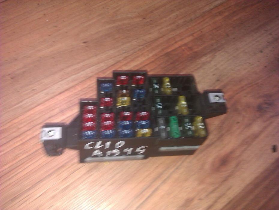 fuse box renault clio, 1990 05 - 1998 09