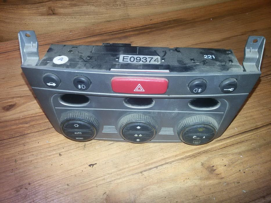 Climate Control Panel (heater control switches) 07353063520  Alfa-Romeo 147 2001 1.6