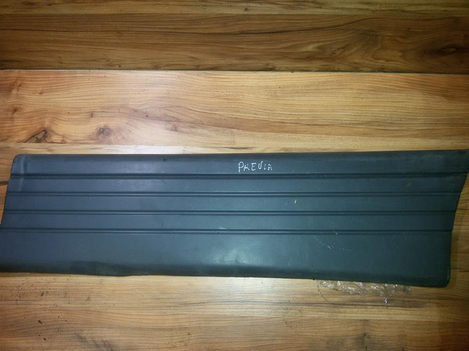 Накладка двери (крышки) багажника