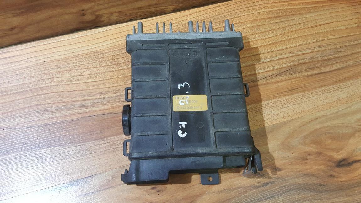 Variklio kompiuteris 443906264F 0280800308 Audi 80 1991 1.8